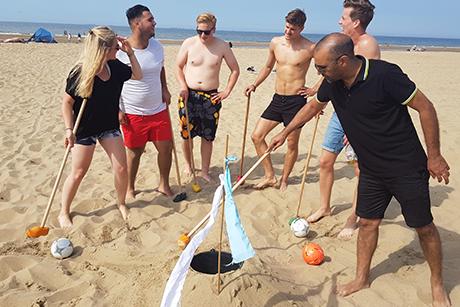 Team-uitje Beach Activiteit